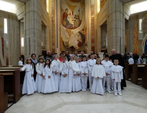 Pielgrzymka Dzieci Pierwszokomunijnych śladami św. Jana Pawła II.