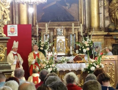 Sprawozdanie z VI Pielgrzymki do Diecezjalnego Sanktuarium Świętej Kingi w Nowym Korczynie 25 lipca 2020 r.