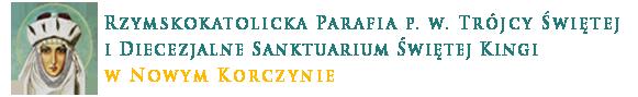 Parafia Rzymskokatolicka PW Trójcy Świętej w Nowym Korczynie Logo